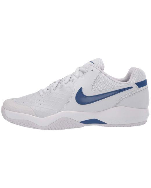 f71ea4584859 ... Nike - Air Zoom Resistance (black white bright Crimson) Men s Tennis  Shoes ...