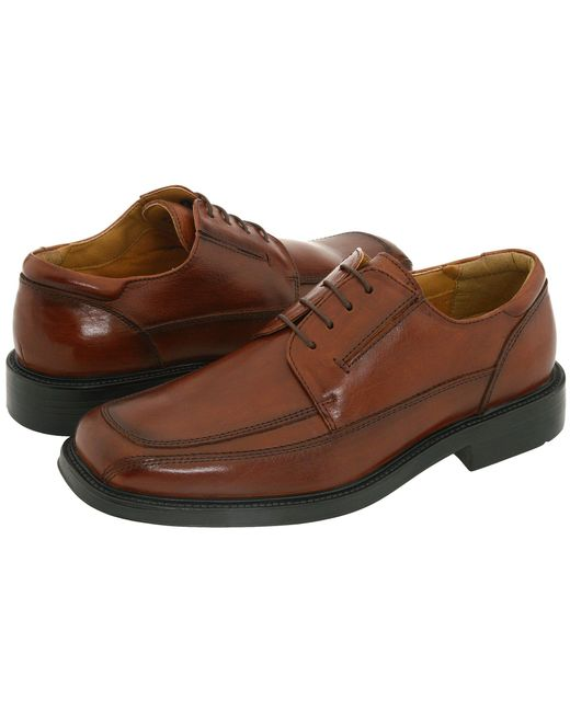 Dockers - Brown Perspective Moc Toe Oxford for Men - Lyst