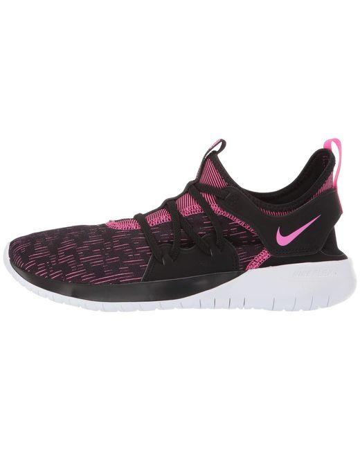 451e1e0588648 ... Nike - Flex Contact 3 (black laser Fuchsia white) Women s Running Shoes  ...