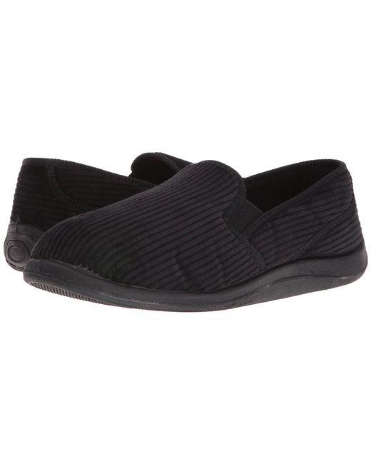 Foamtreads - Black Ascot (dark Brown Corduroy) Men's Slippers for Men - Lyst
