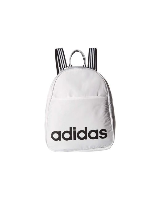 Adidas - Core Mini Backpack (black white) Backpack Bags for Men - Lyst ... 5e22089570
