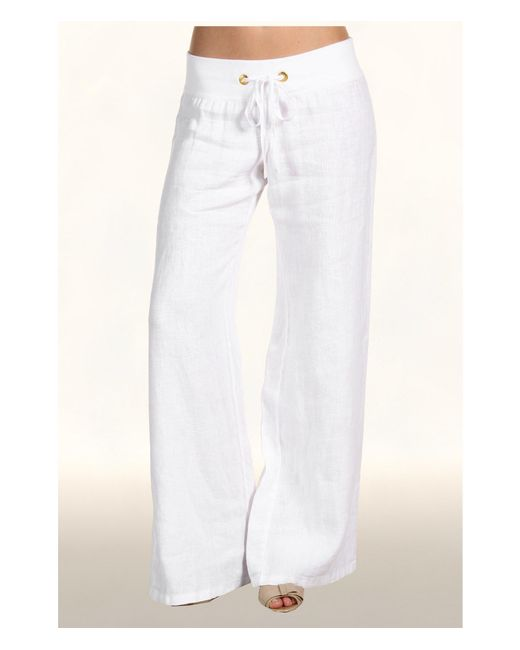 Lilly Pulitzer - White Beach Pant - Lyst