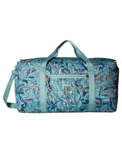 1cac05b467 Vera Bradley - Blue Lighten Up Large Travel Duffel (bramble Vines) Duffel  Bags ...