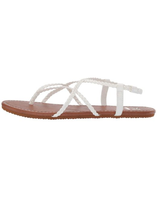 378cd24ef Lyst - Billabong Crossing Over 2 (platinum) Women s Slide Shoes in White
