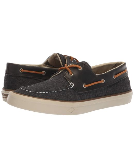 Sperry Top-Sider - Gray Bahama Ii Boat Wool (dark Grey) Men's Shoes for Men - Lyst