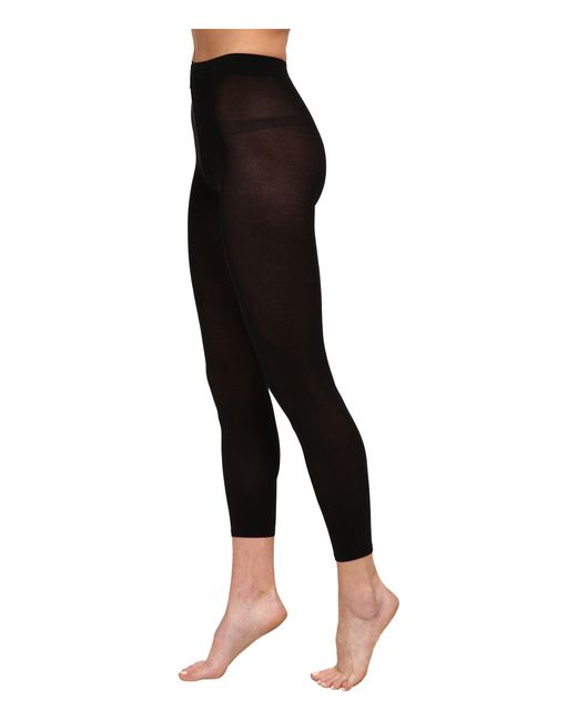 Falke | Black Cotton Touch Leggings | Lyst