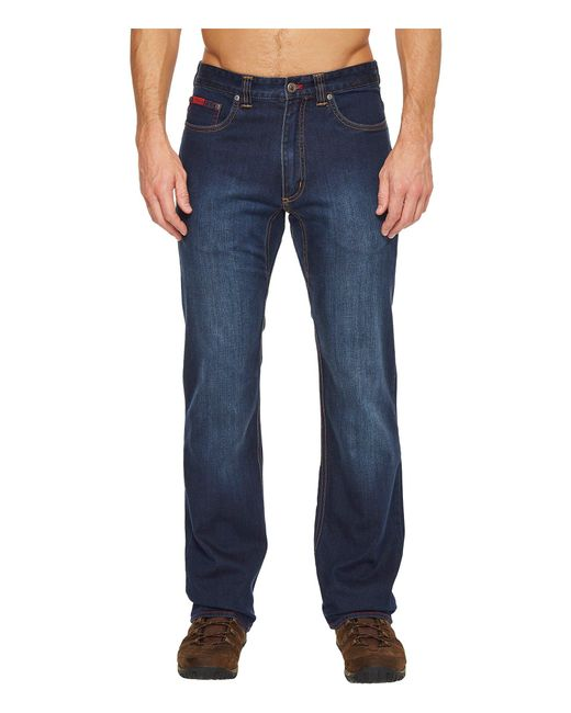 Lyst - Mountain Khakis 307 Jeans Classic Fit (dark Wash ...