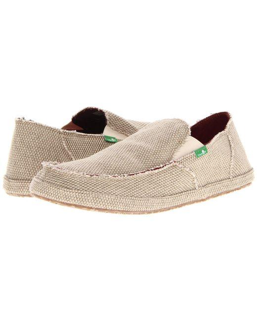 Sanuk - Rounder (brown) Men's Slip On Shoes for Men - Lyst