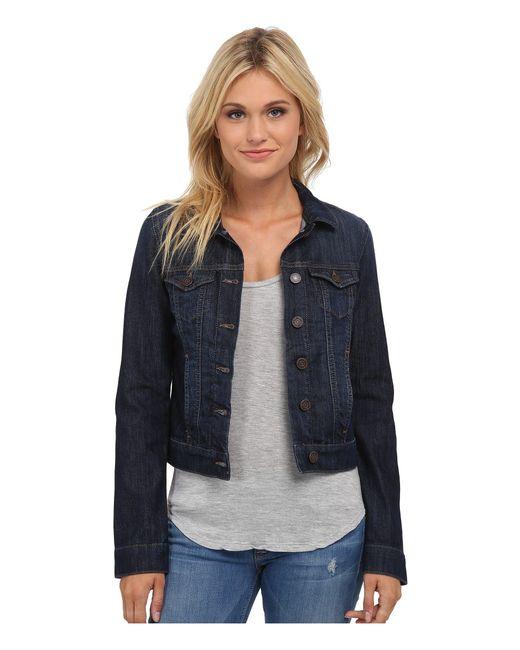Mavi Jeans   Blue Samantha Denim Jacket In Dark Nolita   Lyst