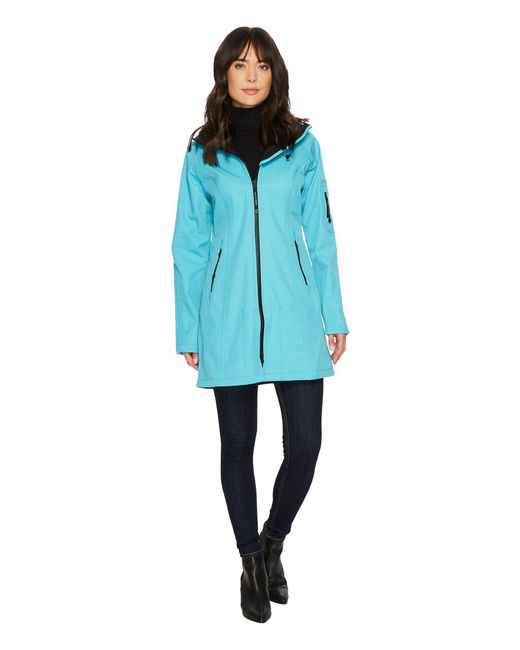 Ilse Jacobsen - Blue 3/4 Length Coat - Lyst