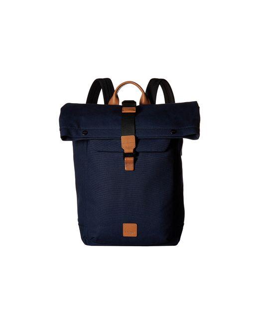 Knomo - Blue Fulham Novello Roll Top Backpack (black) Backpack Bags for Men - Lyst