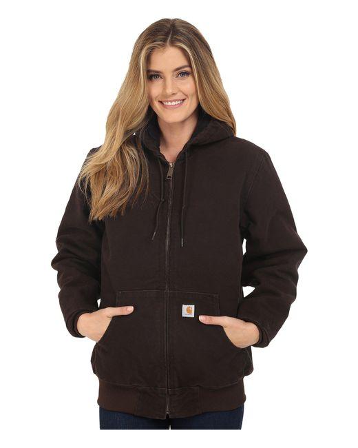Carhartt - Brown Sandstone Active Jacket - Lyst