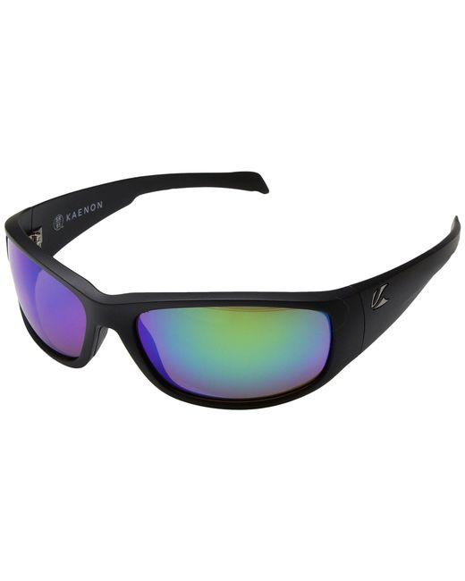 Kaenon - Capitola (matte Black/pacific Blue Mirror) Sport Sunglasses for Men - Lyst