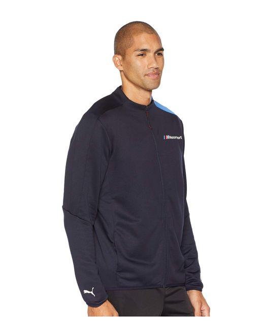 f961b3305744 Lyst puma track jacket team blue men coat in blue zip jpg 520x650 Zip bmw  mms