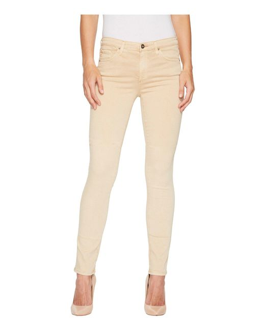 AG Jeans - Natural Prima In Sulfur Sand Dune - Lyst