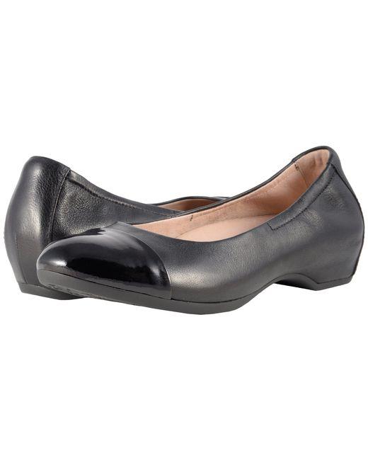 Dansko - Black Lisanne Ballet Flat - Lyst