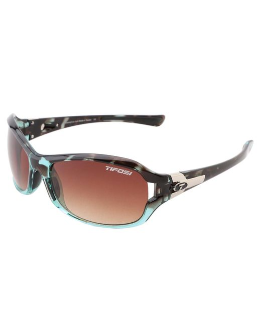 Tifosi Optics - Green Deatm Sl (blue Tortoise/brown Gradient Lens) Athletic Performance Sport Sunglasses - Lyst