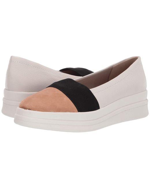 ba527d6370b Naturalizer - Multicolor Yuri (alabaster Pebble Leather) Women s Slip On  Shoes ...