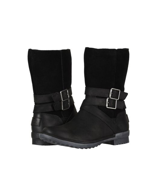 Ugg - Lorna Boot (black) Women's Pull-on Boots - Lyst