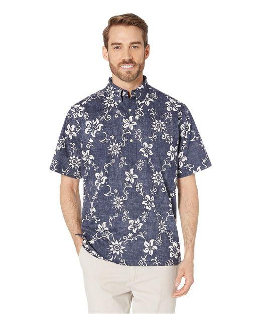 cc9045dda Reyn Spooner - Blue Phil Edwards Summer Pareau Popover Shirt (peacoat) Men's  Clothing for ...