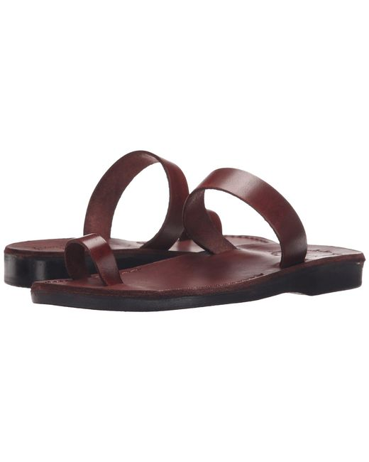 Jerusalem Sandals - Brown Eden - Womens (black) Women's Shoes - Lyst