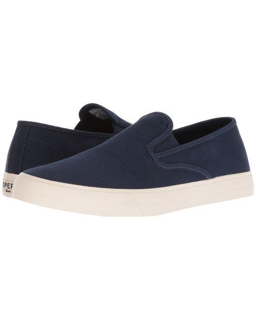 Sperry Top-Sider - Blue Captain's Slip-on (black) Men's Slip On Shoes for Men - Lyst