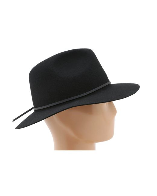 07649d8c0a7f36 ... Brixton - Black Wesley Fedora (olive Heather) Traditional Hats for Men  - Lyst ...