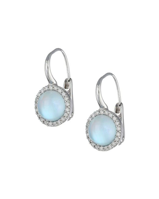 Roberto Coin - Multicolor Cocktail Collection Earrings 18kt (blue Topaz) Earring - Lyst
