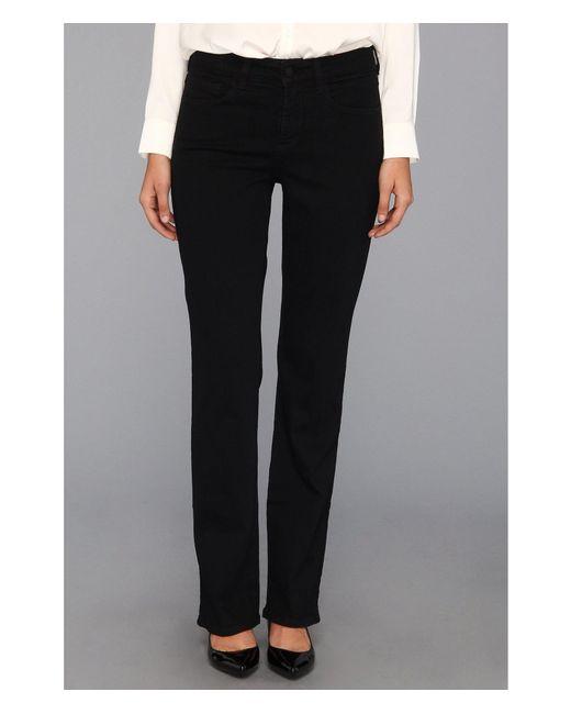 a2f714055d1f5 NYDJ - Barbara Bootcut Classic Black Overdye (black) Women s Jeans - Lyst  ...