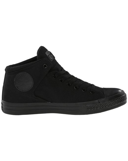 7f417204286 Lyst - Converse Chuck Taylor(r) All Star(r) High Street Mono Canvas ...