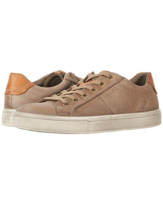 lyst ecco kyle street tie brown men s shoes in brown for men