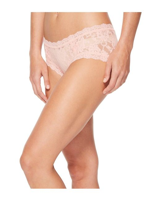 Hanky Panky - Pink Signature Lace Girl-kini (hibiscus) Women's Underwear - Lyst