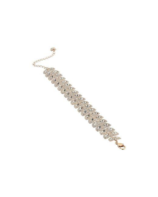 Swarovski - Metallic Baron Bracelet (rose Gold/clear Crystal) Bracelet - Lyst