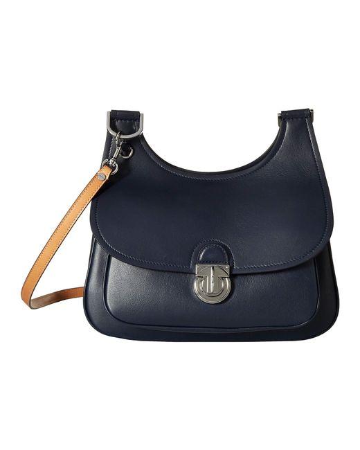 080eaf50c9d ... Tory Burch - Blue James Saddlebag (moose) Handbags - Lyst ...