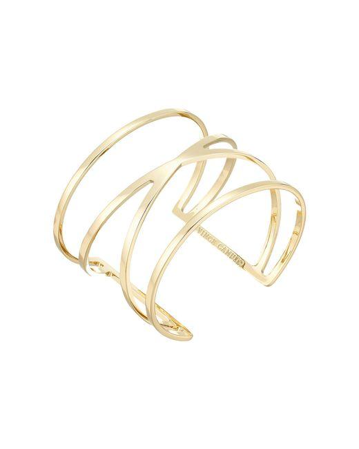 Vince Camuto - Metallic Double V Cuff Bracelet (gold) Bracelet - Lyst