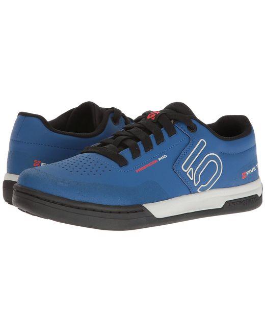 Five Ten - Blue Freerider Pro (night Navy/cloud White/collegiate Gold) Men's Shoes for Men - Lyst