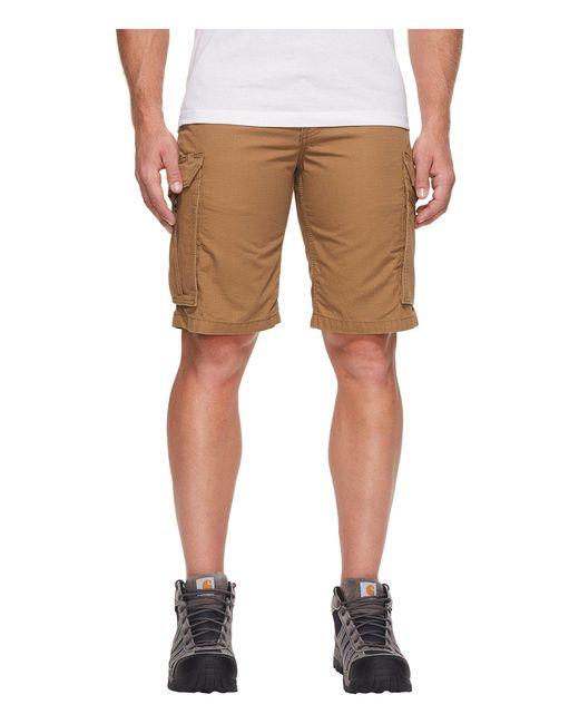 Carhartt - Brown Force Tappen Cargo Short for Men - Lyst