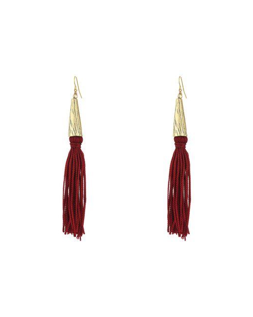 Vanessa Mooney - Gray The Claudette Earrings - Lyst