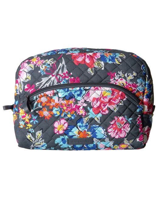 5ced8170e8b5 Vera Bradley - Multicolor Iconic Large Cosmetic (pretty Posies) Cosmetic  Case - Lyst ...