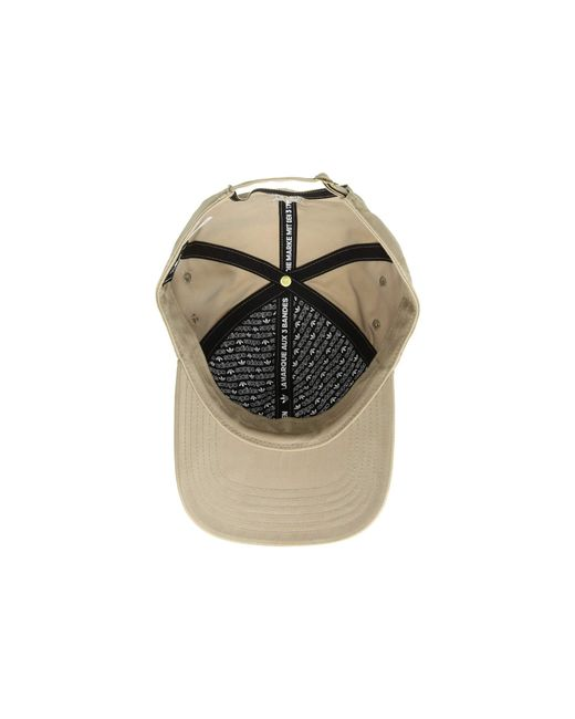 6b5a4e964e2 ... Adidas Originals - Metallic Originals Relaxed Metal Strapback (black antique  Gold) Caps for ...