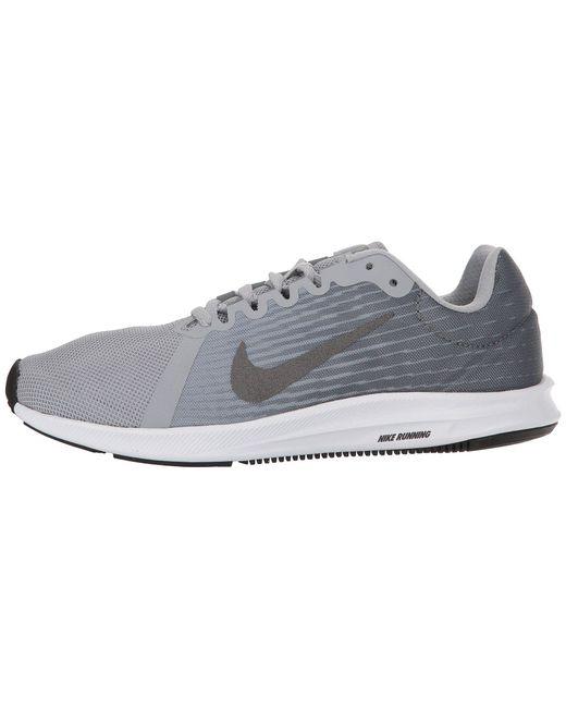 16bcb90db1261 ... Nike - Gray Downshifter 8 (wolf Grey metallic Dark Grey cool Grey  ...