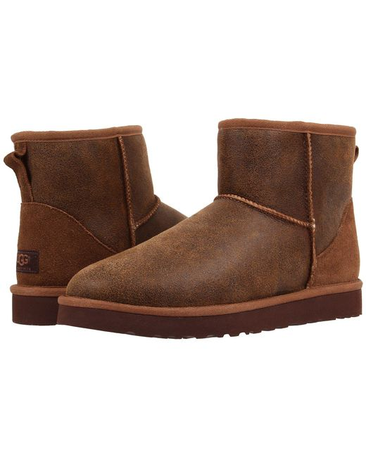 Ugg - Brown Classic Mini Bomber for Men - Lyst