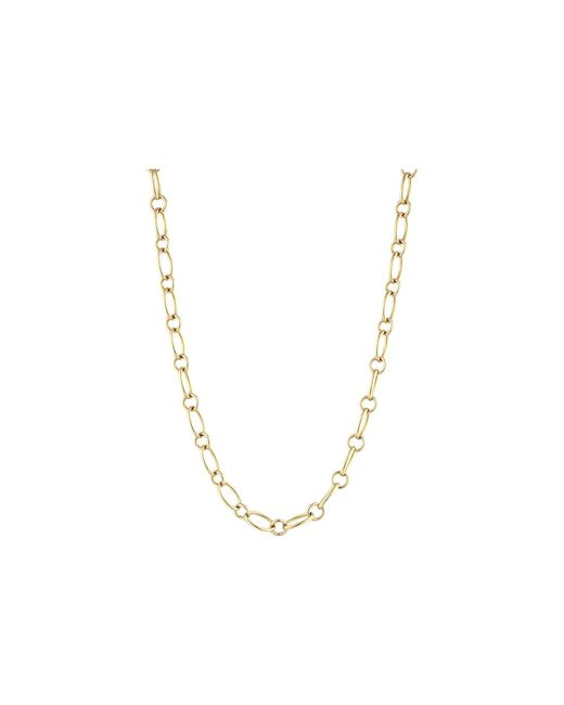 Roberto Coin - 18k Alternating Link 26 Chain Necklace (yellow) Necklace - Lyst
