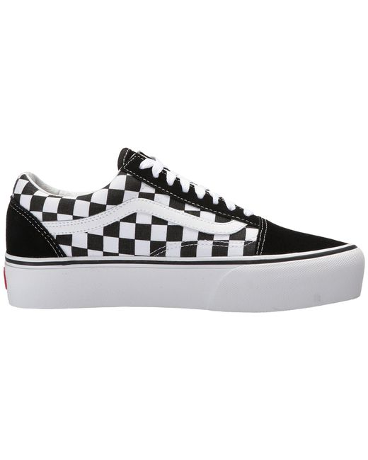 8946d0c2e0ae Lyst - Vans Women s Old Skool Platform Sneakers in Black - Save 53%