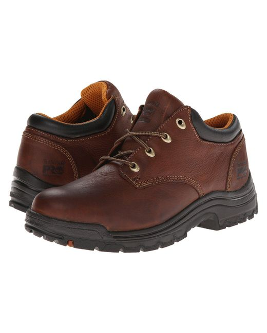Timberland - Titan(r) Oxford Soft Toe (haystack Brown Oiled Full-grain Leather) Men's Industrial Shoes for Men - Lyst