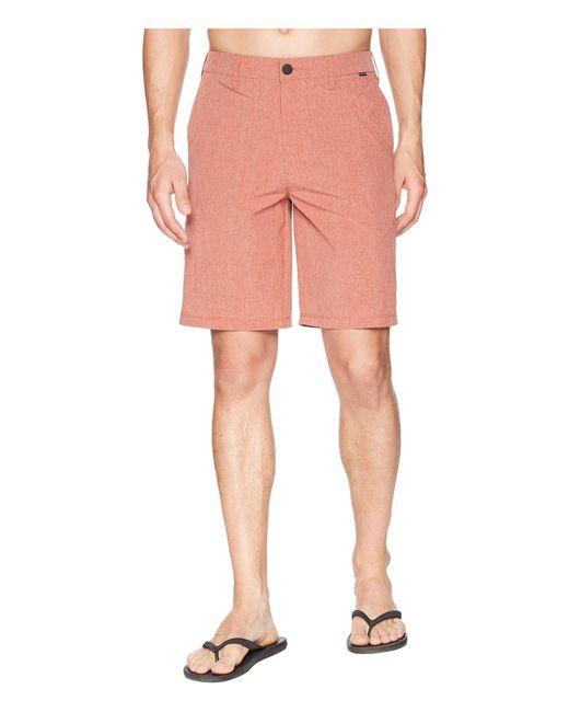 Hurley - Pink Phantom Hybrid Walkshorts (faded Spruce) Men's Shorts for Men - Lyst