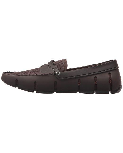 0c71de0b849 ... Swims - Brown Penny Loafer (seaport Blue alloy) Men s Shoes for Men ...