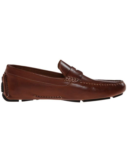 339e4f49ba7 ... Cole Haan - Brown Howland Penny (saddle Tan) Men s Slip-on Dress Shoes  ...