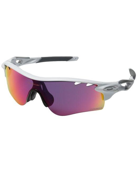 Oakley - White Radarlock Path (polished Black/prizm Golf) Sport Sunglasses for Men - Lyst