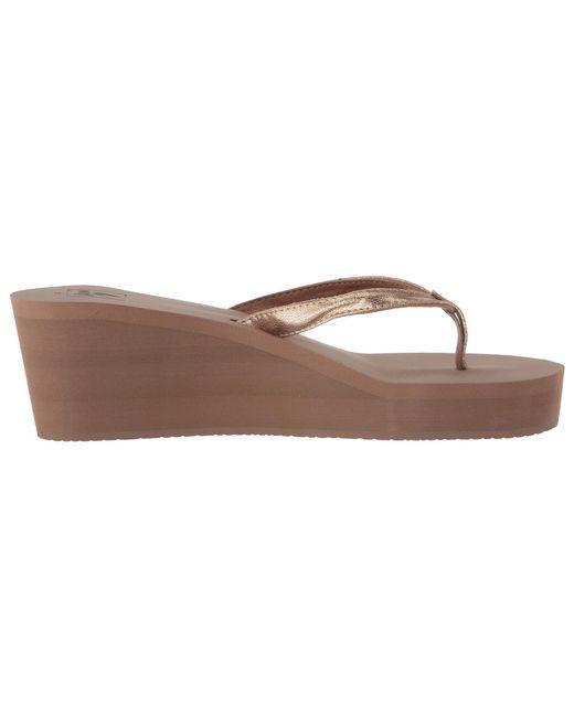 0568045c20 ... Lyst Reef - Multicolor Midnight (black/black) Women's Sandals ...